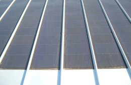 Cover with applied photovoltaic